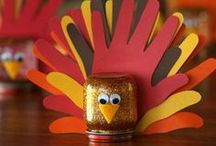 Thanksgiving / crafts, recipes and decoration ideas for Thanksgiving