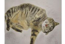 the art of cats / by Sally Ann Noel