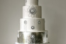 Cake... White and/or Silver Sparkle / by Beverly Watts