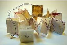 Fiber Art: Paper and Bookmaking / Art made with paper and wonderful handmade books