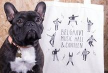 Dolly & Friends / Dolly is our awesome little French Bulldog and the face of Awesome Merch! Well, she's actually the boss.