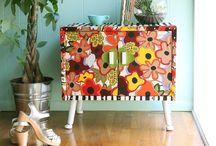 Muebles coloridos