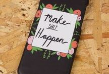 Phone Cases / Top pictures of awesome phone cases that we've made! We can print iPhone, HTC & Samsung. Hurrah!