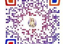 DIOSES OLÍMPICOS / Colección de QR codes sobre los dioses olímpicos creados por el alumnado de 4º de E.S.O.. Aunque la imagen lleva al trabajo, los QR son perfectamente legibles en páginas como  http://zxing.org/w/decode.jspx y dispositivos móviles aptos.
