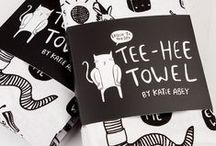 Tea Towels / Check this board out for everything tea towel related. You know, we also print custom packaging. Awesome.
