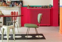 DECOR / Go with pieces you love and lot's of bold color!