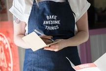 Aprons / Custom printed / embroidered aprons aren't up on our site yet but mail us at info@awesomemerchandise.com for a quote today!