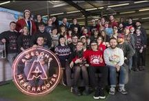 Awesome Christmas / We LOVE Christmas at Awesome Merch. Here's some pictures from years gone by of all things festive.