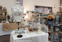 Vintage Shows, Shops, and Displays / Inspiring displays and fun vintage shows and shops.