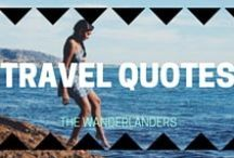 EXPAT QUOTES / Motivation for your life abroad