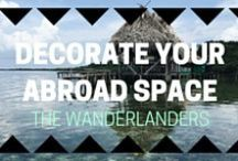 Decorate Your Abroad Space For Less