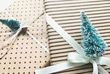 DIY wrapping presents / Creative ideas how to wrap presents beautifully - for christmas, birthdays, weddings... Geschenkverpackungen