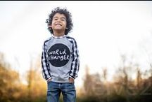 Fashion Inspiration {Boys} / Finds that inspire me to create for the boys in my life.