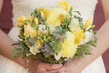 Yellow Wedding Ideas / See how you can work this bright and sunny hue into your celebration. / by Weddingbells