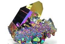 Rock Crystals  / I ve been a rock hound since i was a kids ... / by Nancy Busch