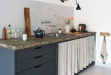 INTERIOR kitchen / Schöne Einrichtungsideen rund um die Küche.