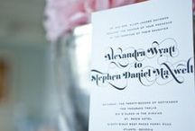 Custom Wedding / Custom designed Wedding invitations by simplyput. Paper & Gift located in Atlanta, Georgia.  http://www.simplyputpaper.com/