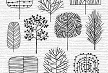 DIY doodles + drawing / how to draw animals or beautiful patterns for DIY ideas ...