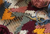 DIY yarn & ribbon / DIY ideas with yarn