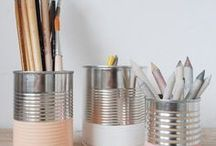 DIY cans / DIY with cans, upcycling