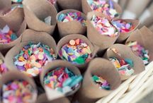 DIY party supplies / DIY ideas for party decoration