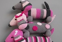 """Knitting/Crochet Critters / It seems making """"Critters"""" pleases the maker as much as the recipient.  / by Pat A. Thompson"""