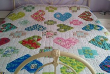 """Quilts with Hearts / Please pin only 2 or 3 per day, thanks! WOULD YOU LIKE TO PIN ON """"QUILTS with HEARTS""""? """"Follow"""" this board and email: pthompson878@yahoo.com / by Pat A. Thompson"""
