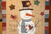 """Quilts with Snowmen / I love Snowmen! Please pin only 2 or 3 per day, thanks! WOULD YOU LIKE TO PIN ON """"QUILTS with SNOWMEN""""? """"Follow"""" this board and email: pthompson878@yahoo.com / by Pat A. Thompson"""
