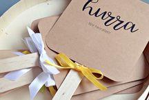 WEDDING diy & crafts / Beautiful and creative DIY ideas for your wedding.