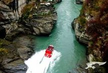 New Zealand~ its on my Hit List .... / Southwestern Pacific Ocean  1.Nelson New Zealand -The Skywire and some 4'wheelin fun   / by Nancy Busch