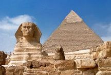 Egypt ~the world of wonders / travel the world  / by Nancy Busch