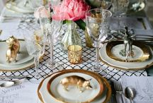 Tablescapes - Event Styling / Styling ideas for events / by Emma Blomfield