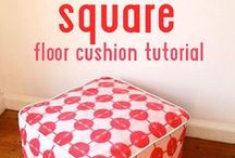 Free Tutorials {Housewares} / Amazing tutorials to help you create for the home!