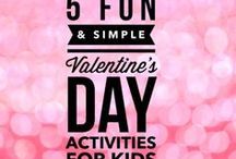 Valentines Day / Valentine's Day ideas for kids