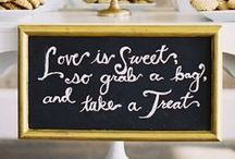 Sweet Treats Wedding Desserts / The possibilities for wedding desserts are endless! Whether you choose a traditional, tower wedding cake or spring for the ever-trending cupcakes, there are plenty of ideas on our board to keep your sweet tooth thinking.