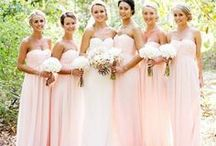 The Bridesmaids / Your bridesmaids are your best friends, your sisters, your cousins, and your new family members. These are the girls who have stood and will stand by your side no matter what. What will they look like standing next to you on your big day? Browse through hundreds of bridesmaid dresses, flower bouquets, jewelry, hair and makeup ideas!