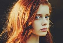 PEOPLE • Female • Ginger Hair