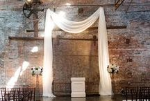 Modern Wedding Ideas / If you're looking to have a modern wedding, keep your big day simple with neat, white details, clean lines and geometric shapes and patterns. Scroll through some of our favorite modern wedding ideas below to get your gears turning!