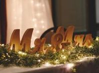 Dazzling Details - Wedding Decor / All of the little details come together when it's finally time for the big wedding day. Browse some of our favorite wedding ideas here, from wedding centerpieces, to alternative guest book ideas, and more!