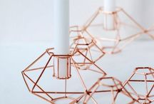 DIY copper / DIY ideas in copper