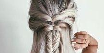 HAIR braided / Romantische Flechtfrisuren oder sportlich Geflochtenes.