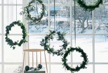 CHRISTMAS homedecor / Weihnachtliche Einrichtungsideen für die Wohnung