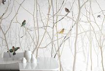 INTERIOR wallpaper / Tolle Tapeten mit schönen Mustern für Wohnzimmer, Schlafzimmer und Co.
