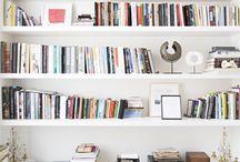 INTERIOR bookshelf / Einrichtungsideen und Inspiration für Bücherregale.