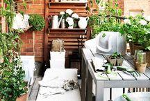 LIVING balcony ideas / Cozy and green ideas for your balcony.