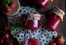 FOOD jam, curd & chutney / Ideen und Rezepte für Marmeladen, Konfitüren, Curds und Chutneys.