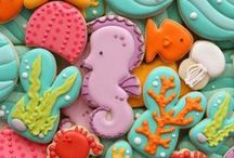 Decorated Sugar Cookies / Cut out Cookies Decorated Cookies & Sugar Cookies / by the BearFoot Baker (Lisa)