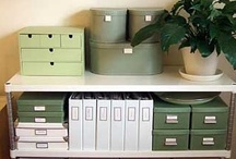 organization & storage / good ideas and tips for being more organized