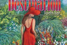 Covers - Destination Tampa Bay / Our editorial team tries hard to create dynamic and appealing covers for each edition - hope you like them!