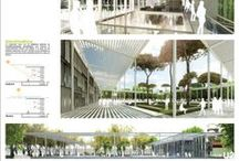 architecture. / dance upon the architecture.  buildings. landscapes. urban areas. design. interior. sketches. scribbles.
